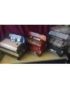 3, 4, 5 Row Chromatic Accordions