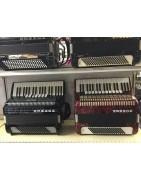 Range of piano accordions
