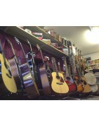 A range of stringed  instruments