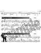 Sheet music score books