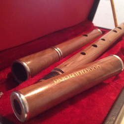 Boorinwood Cocus wood Irish Traditional D Flute