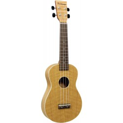Ashbury Concert Ukulele Flame oak top, back & sides.
