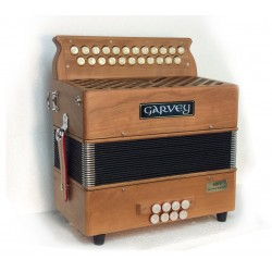 Garvey TAM 2 Wooden 2 Voice Irish dry tuned Accordion