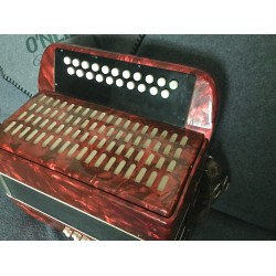 Weltmeister B/C 3 voice  23 button accordion Used
