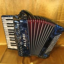 Allodi Fantini Compact 26 key 72 bass 2 voice Irish Dry Tuned Accordion Used