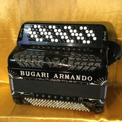 Bugari Armando 5 Row Midi Chromatic accordion 87/120 bass Used
