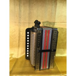 Hohner 114A 4 Stop Melodeon key A Used
