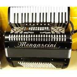 Mengascini Midi Piano Accordion 4 voice 37/96 Musette Used
