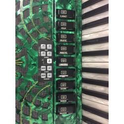 Fantini Midi Piano Accordion 4 voice 37/96 Musette Used