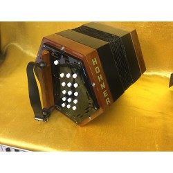 Used Hohner 30 Button C/G Anglo Concertina