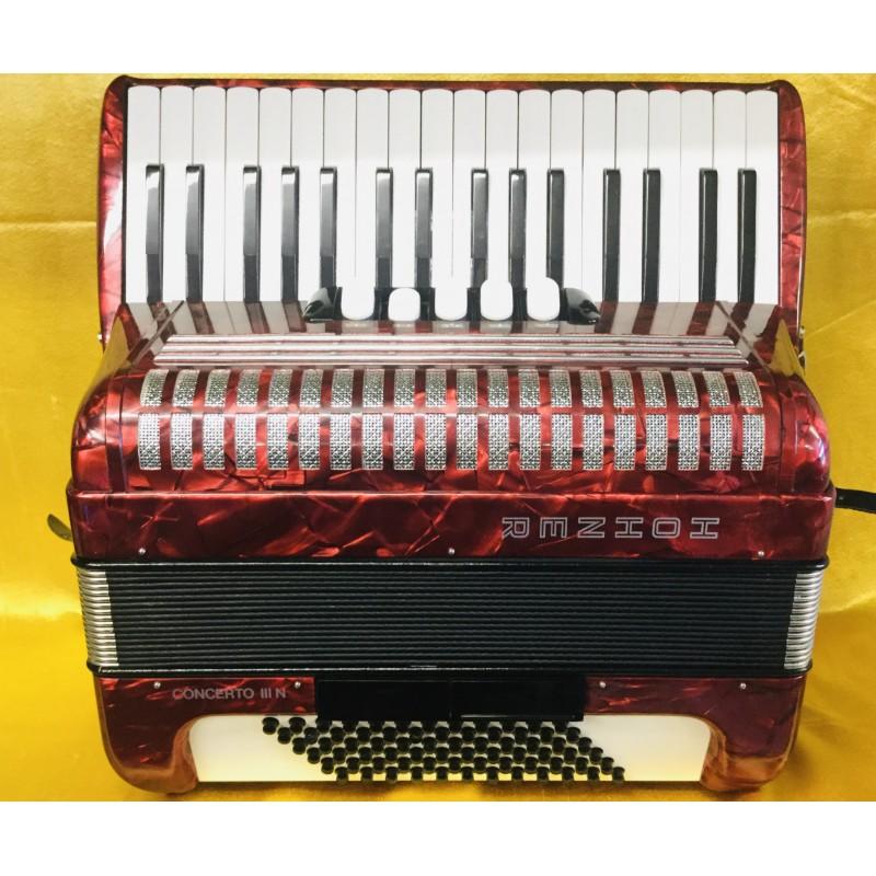 Hohner Concerto IIIN 72 Bass Lightweight Used
