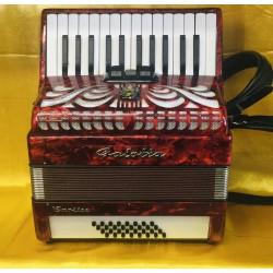 Galotta Caprice 26 key 32 Bass Compact Accordion Used