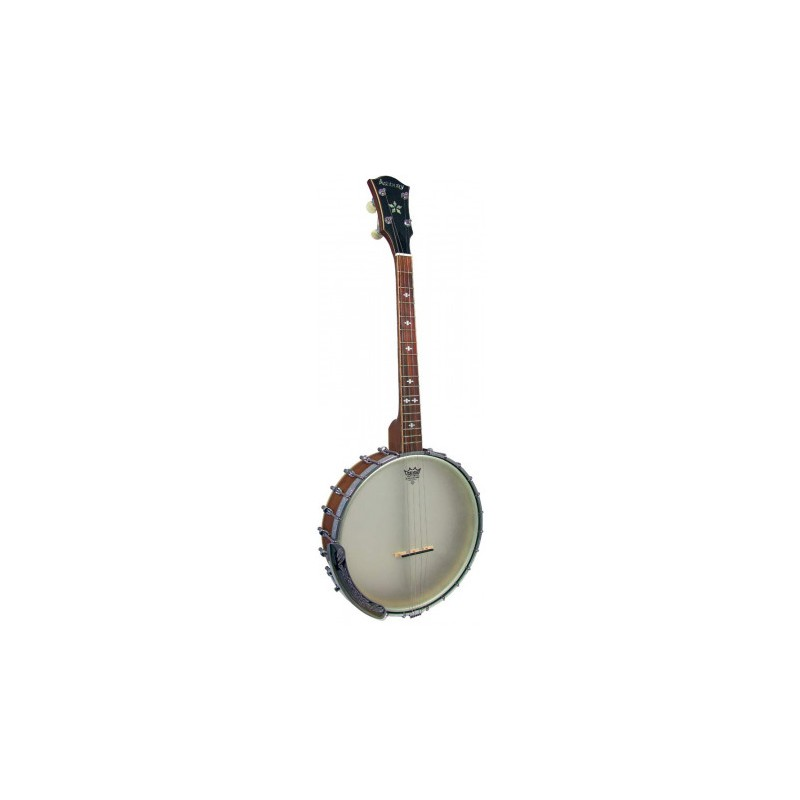 New Ashbury AB-55 Openback 17 Fret Irish Tenor Banjo