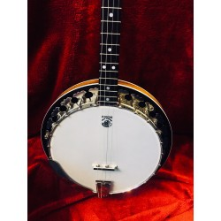 Used Deering Boston  Short Scale 17 Fret Irish Tenor Banjo