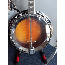 New Boorinwood TB-75 Irish Tenor Banjo with Brass Tone Ring