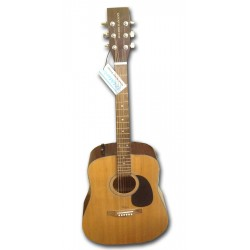 Boorinwood FAW803E Dreadnought Semi Acoustic Guitar Natural