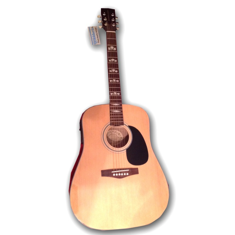 Boorinwood FAW812EQ Dreadnought Acoustic Guitar Natural