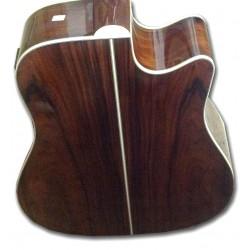 Boorinwood SDC130CE Dreadnought Acoustic Guitar Sunburst