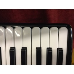Paolo Soprani Black Midi IV Voice 41/120 Scottish Musette Used