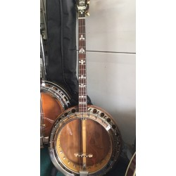 Paramount Style B vintage 19 Fret Irish Tenor Banjo Made in USA in case Used