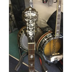 Parmount Style C vintage 19 Fret Irish Tenor Banjo Made in USA in case Used