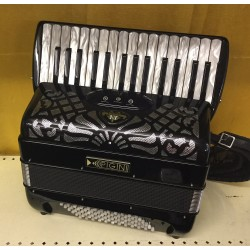 Pigini P30 Compact 30 key 72 bass 2 voice Swing Tuned Accordion Used