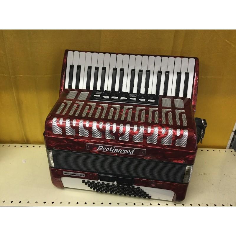 Boorinwood Mid Range 34/72 3 voice Red