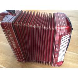 Hohner Shand Marino 3 Row B/C/C sharp Accordion 46 button 120 bass Used