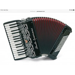 New Paolo Soprani 30 key 72 Bass Tremolo 3 Voice Piano Accordion