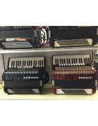 Range of piano accordions