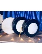 Irish bodhran goatskin drum, cajon, percussion drums