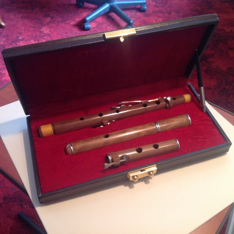 Boorinwood 5 Key Cocus wood Irish Traditional D Flute