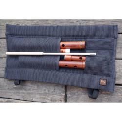 Tim Adams Hand Made Mopane Flutewood Irish Traditional D Flute