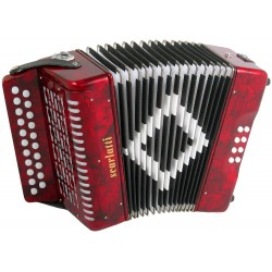 Scarlatti B/C 2 voice Irish Style Button Accordion