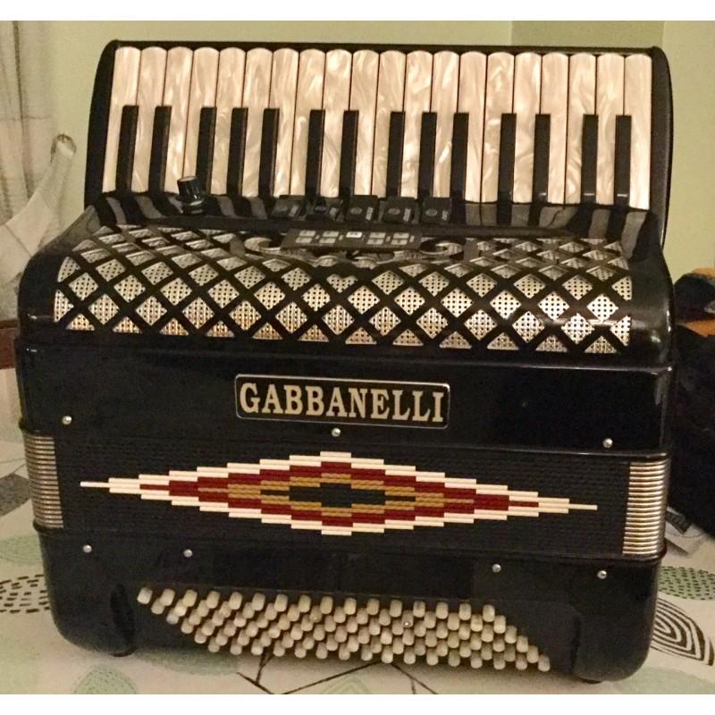 Gabbanelli Midi Piano Accordion 3 voice 34/96 Musette Used