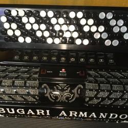 Bugari Armando 5 Row Midi Chromatic accordion 87/120 bass Used