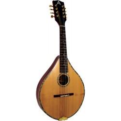 Ashbury Celtic Mandolin, Solid Spruce Abalone purfling & rosette