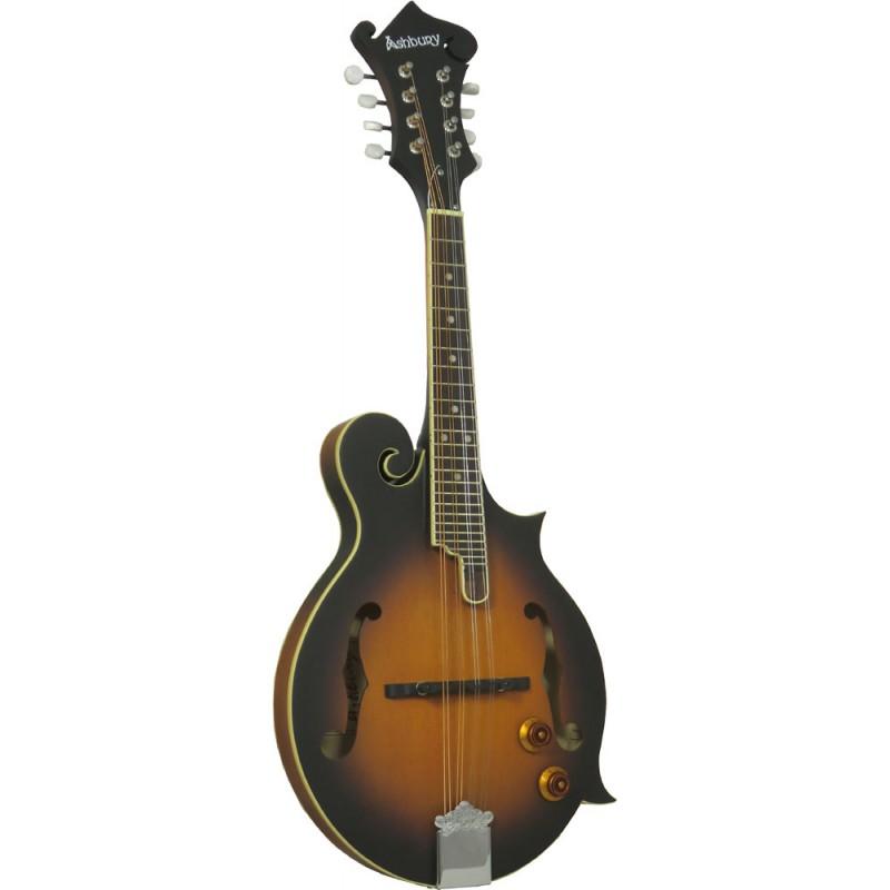Ashbury Electro F Style Mandolin, S/B