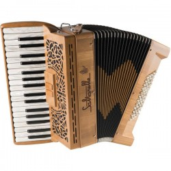 Saltarelle Clifden Piano Accordion 60 Bass 2 voice Used
