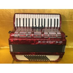 Galotta 34 Key 72 Bass 3 Voice Piano Accordion Used