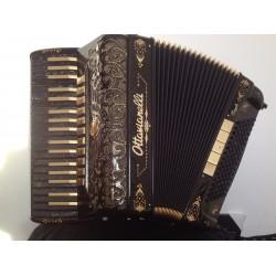 Ottovianelli Eagle Custom Built 4 Voice Compact Piano Accordion 37/96 Midi Used