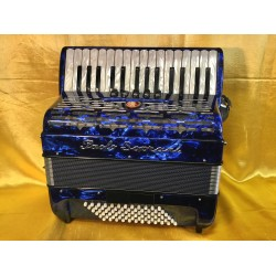 New Upgraded Paolo Soprani Professional 30 key 72 Bass Dry Tuned 3 Voice Piano Accordion