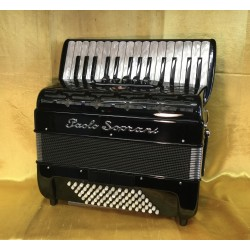 New Upgraded Paolo Soprani 30 key 72 Bass Tremolo 3 Voice Piano Accordion