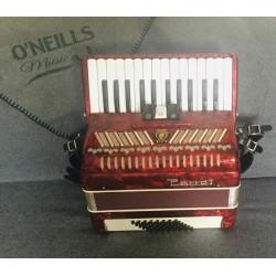 Parott 26 Key 48 Bass Piano Accordion used