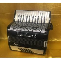 Stagi Student Italian 26 key 40 bass accordion used
