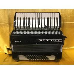 Hohner Amica III 34/72 Tremolo 3 Voice Used