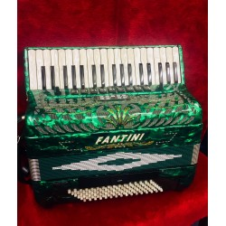 Fantini Midi Piano Accordion 4 voice 37/96 Musette Used