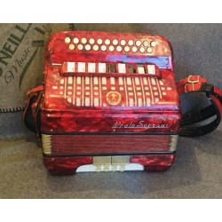Paolo Soprani 1960s D/D Sharp 4 voice accordion Used