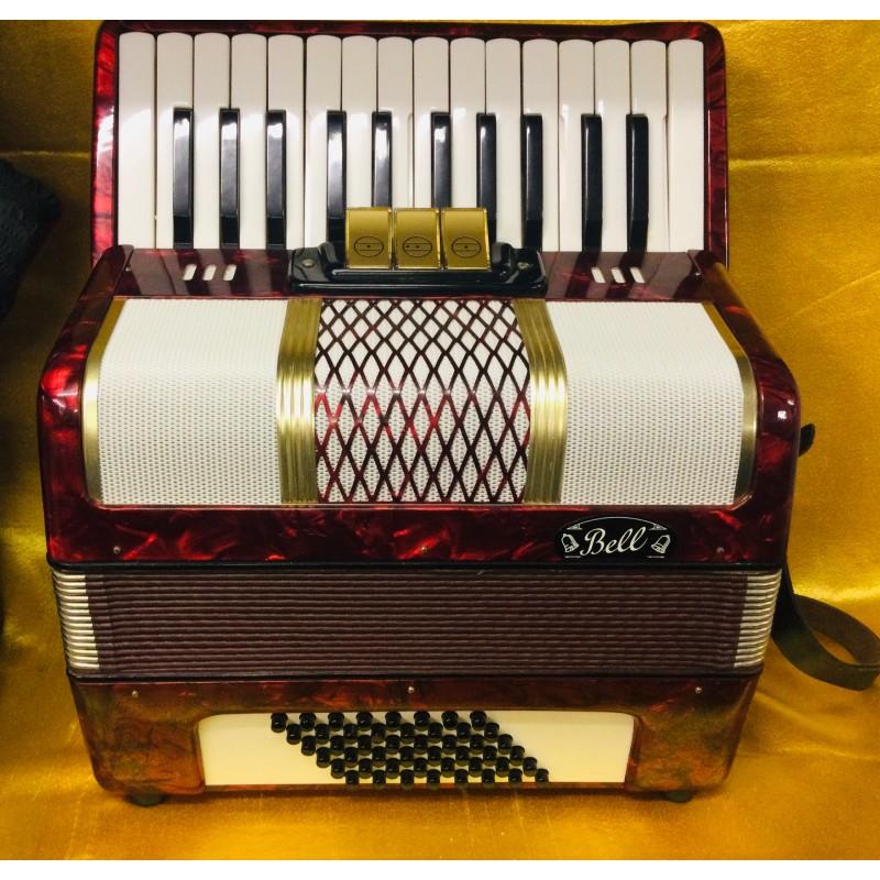 Galotta 26 key 48 bass accordion German made used