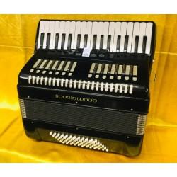 Boorinwood 34 key 72 bass 3 voice Piano Accordion Black Used